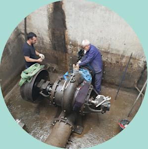 pôle opérationnel hymevi maintenance et réparation de pompes d'alimentation en eau à Arles dans les Bouches du Rhône